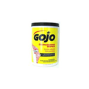 GOJO SCRUBBING WIPES 72/PK