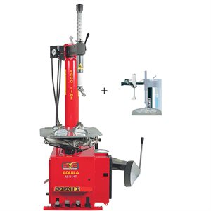 AS914TI-2SP Swing Arm Tire Changer With SX1 Helper Arm