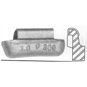 AWN WEIGHT COATED - 2.00 OZ