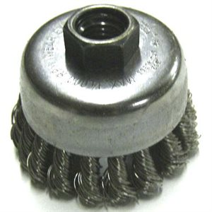 2-3/4IN SS CAB.WIRE CUP BRUSH