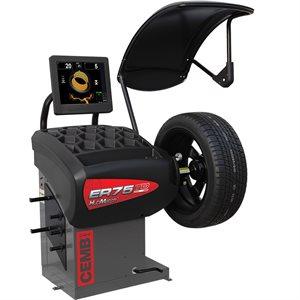 ER75MC HubMatch™ RFV Diagnostic Wheel Balancer With Manual Clamping