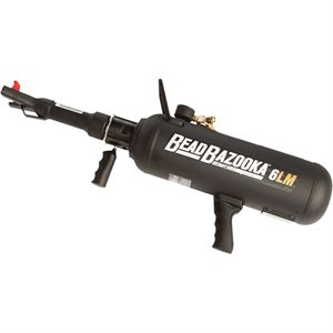 6L MANUAL BEAD BAZOOKA - BLACK