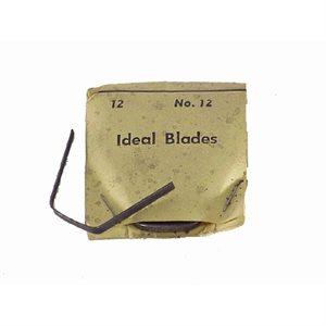 IDEAL #12 LARGE BLADES - 12/PK