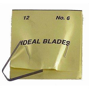 IDEAL #6 LARGE BLADES - 12/PK