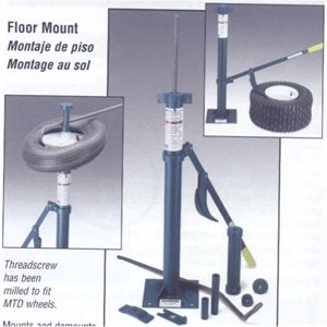 FLOOR MOUNT SMALL TIRE CHGR